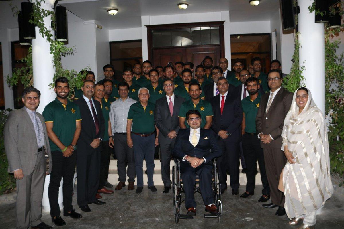 Pakistan's Ambassador to UAE holds reception to honour Team Pakistan
