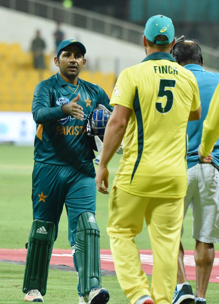 Pakistan vs Australia - First T20I in Abu Dhabi