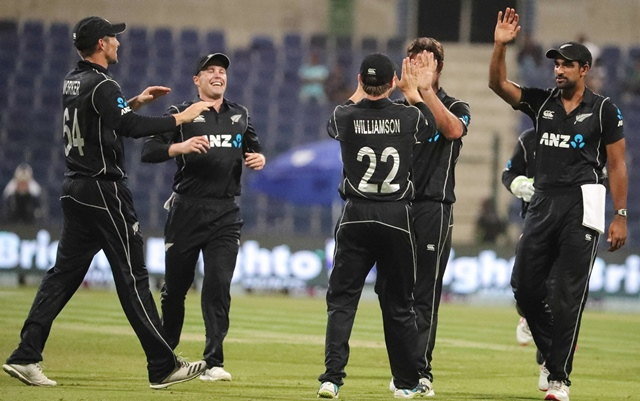 Pakistan vs New Zealand - First ODI in Abu Dhabi
