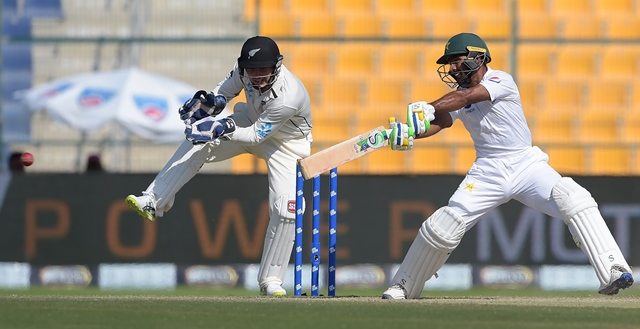 Pakistan vs New Zealand - First Test in Abu Dhabi