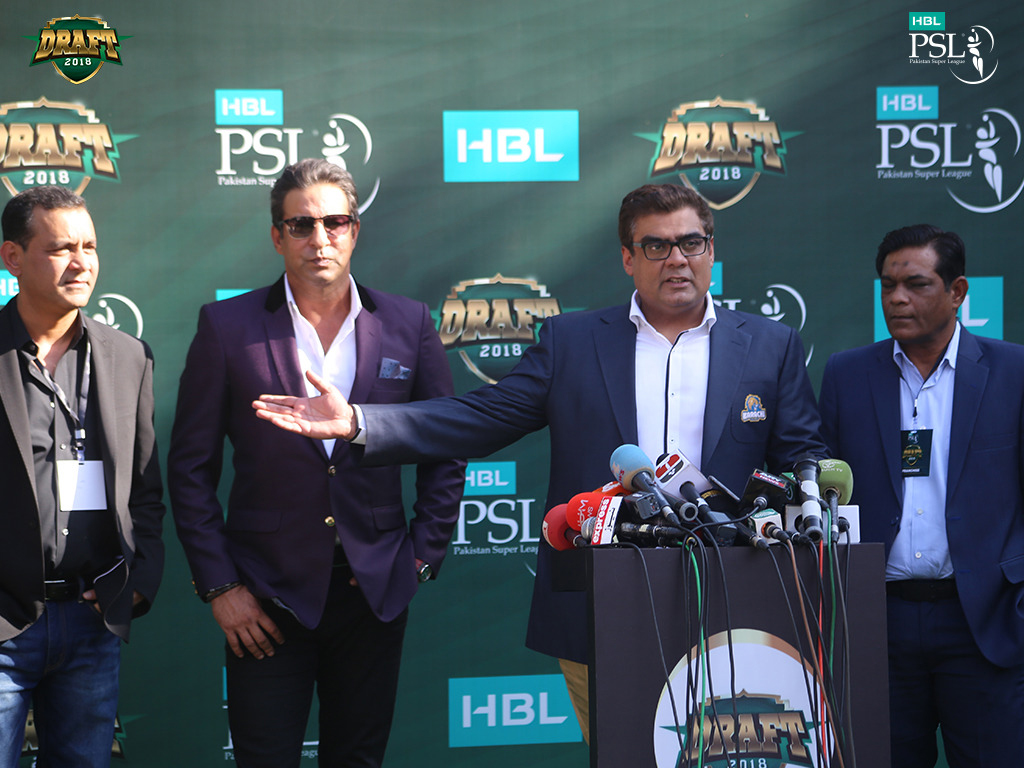 Pictorial view of PSL Draft 2018