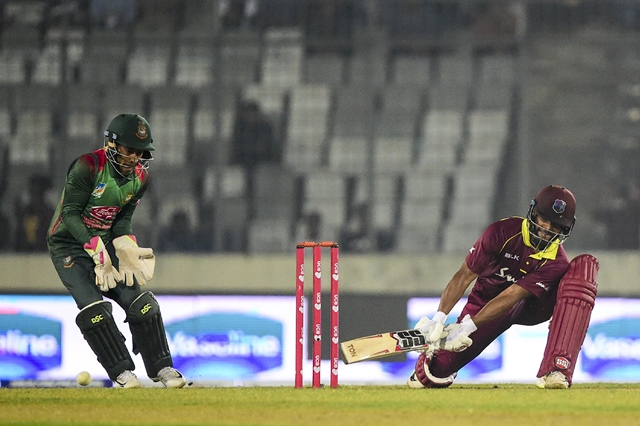 Bangladesh vs West Indies - Second ODI in Dhaka