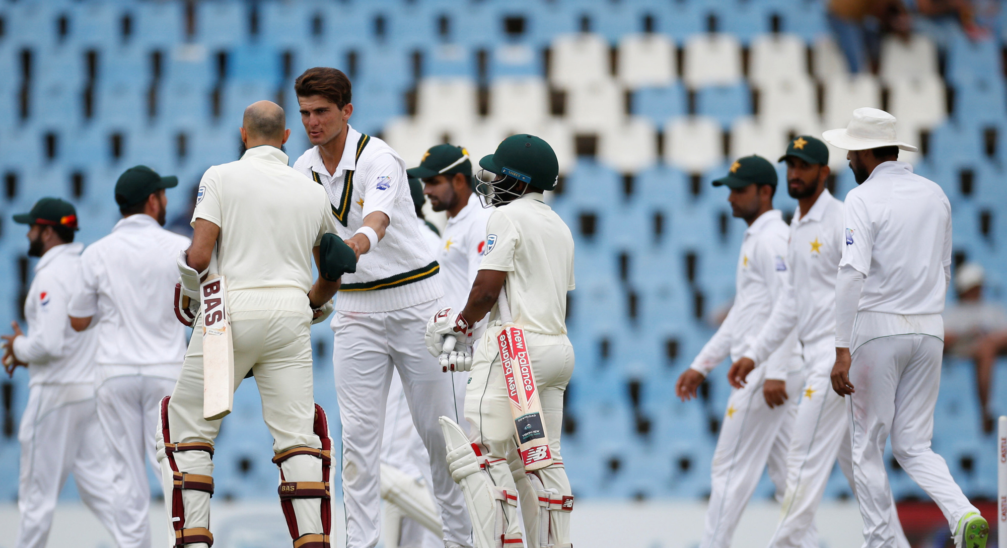 Pakistan vs South Africa - First Test in Centurion