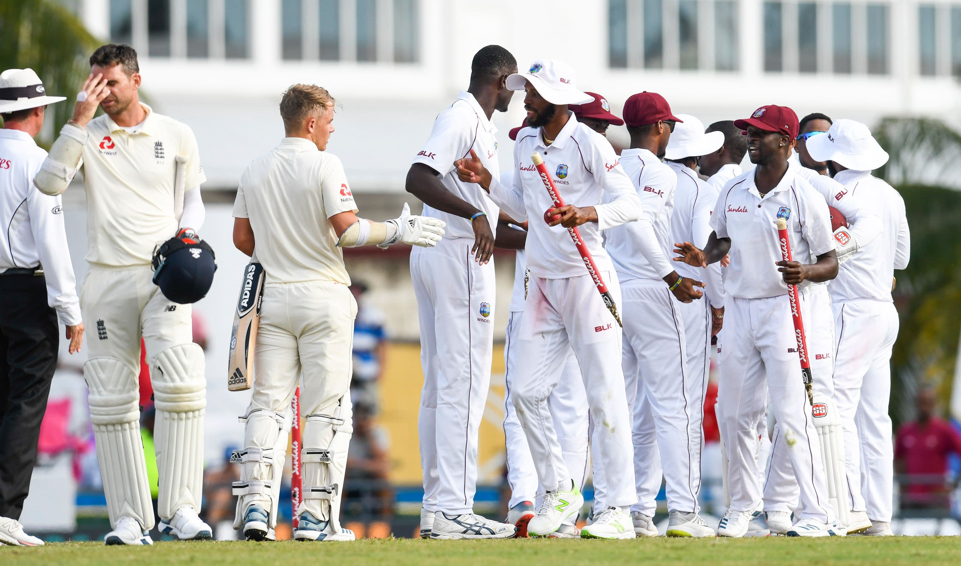 West Indies vs England - First Test in Bridgetown