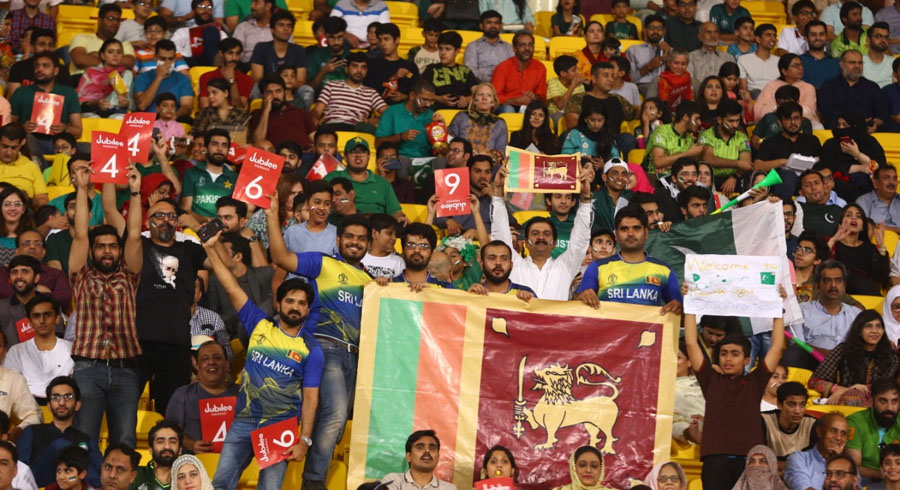 There was support for Sri Lanka as well