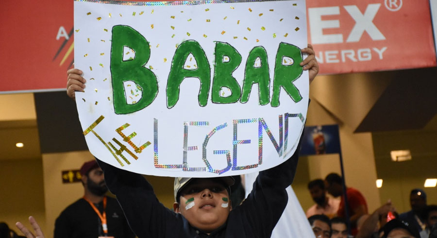 Fan of Babar Azam