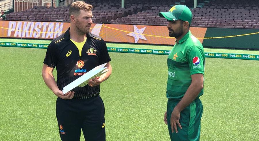 Trophy unveiling (Australia vs Pakistan T20I series)