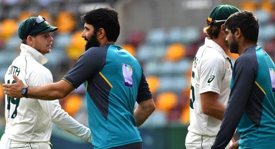 برسبین ٹیسٹ میں پاکستان کو آسٹریلیا کے ہاتھوں اننگز اور 5 رنز سے شکست