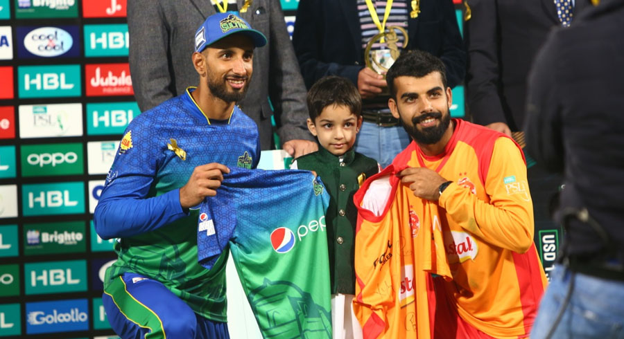 HBL PSL 5: Fifth match between Islamabad United and Multan Sultans
