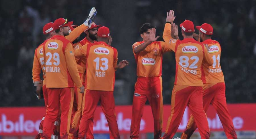 HBL PSL 5: Seventh match between Islamabad United and Lahore Qalandars