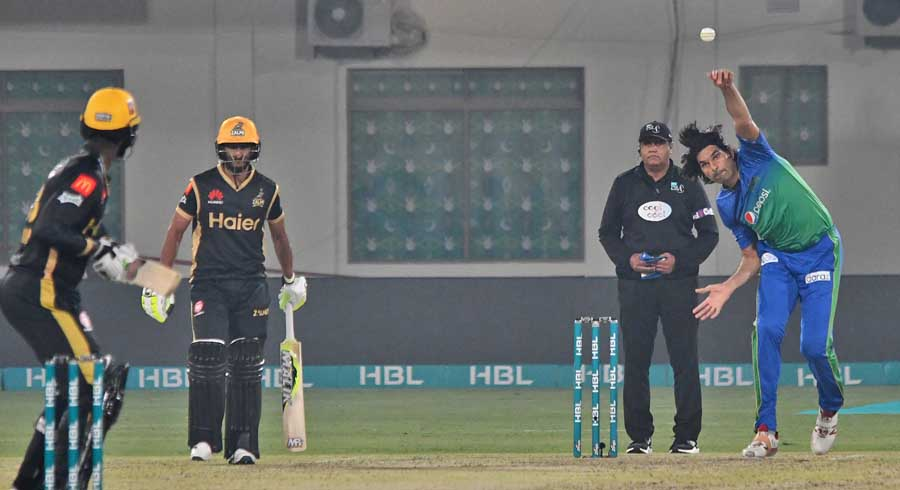 HBL PSL 5: Eighth match between Multan Sultans and Peshawar Zalmi