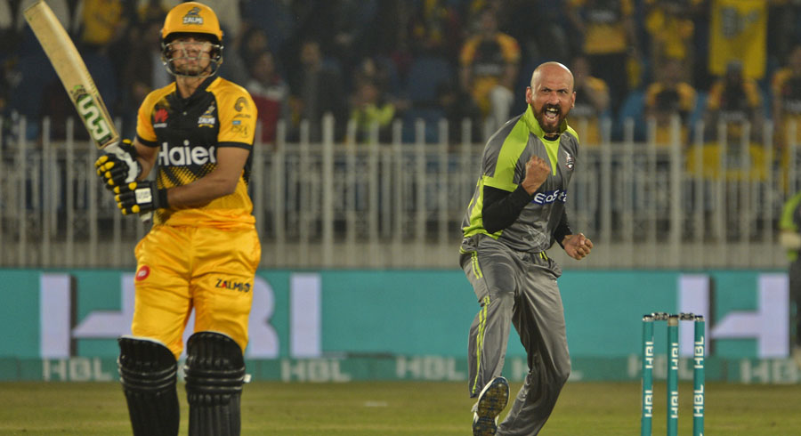 HBL PSL 5: Eleventh match between Lahore Qalandars and Peshawar Zalmi