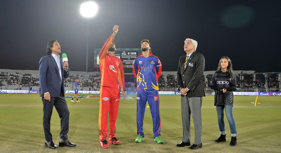 HBL PSL 5: 14th match between Islamabad United and Karachi Kings