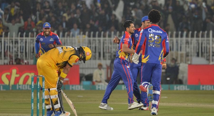 HBL PSL 5: Fifteenth match between Peshawar Zalmi and Karachi Kings
