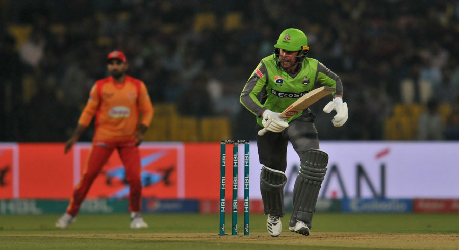 HBL PSL 5: 17th match between Islamabad United and Lahore Qalandars