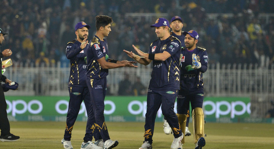 HBL PSL 5: 18th match between Peshawar Zalmi and Quetta Gladiators