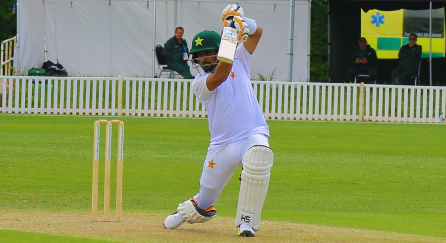 Pakistan's first practice match in Worcester