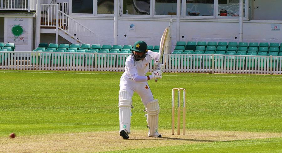 Pakistan's first practice match