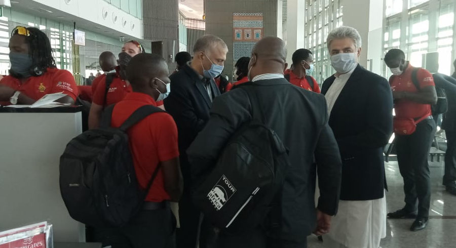Zimbabwe team arrives in Pakistan