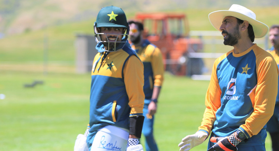 Pakistan squad trains in Queenstown