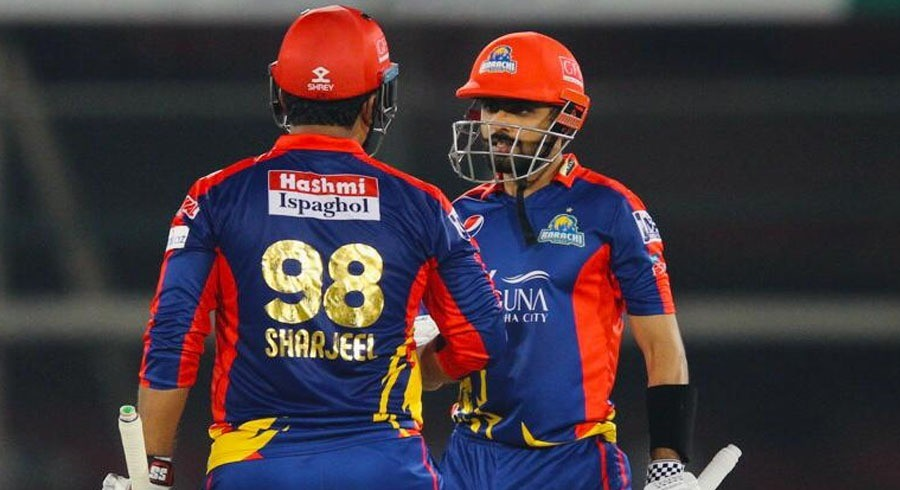 Babar, Sharjeel share 176-run opening stand, which was the highest in PSL history, against United