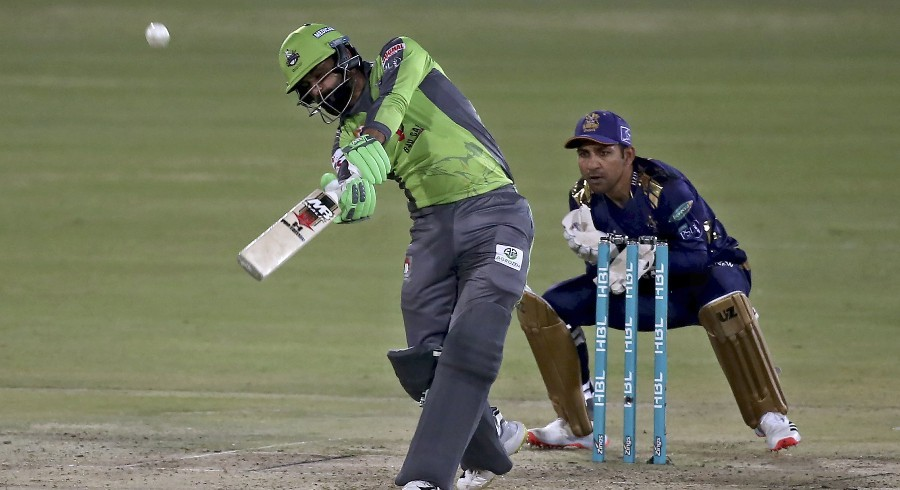 Hafeez scores 73 off 33 balls against Quetta