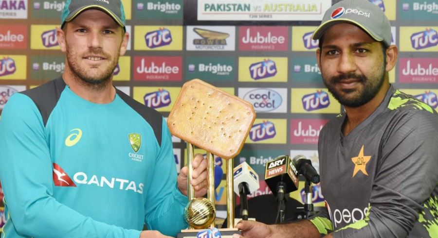 Twitter reacts after unveiling of bizarre Pakistan – Australia T20Is trophy