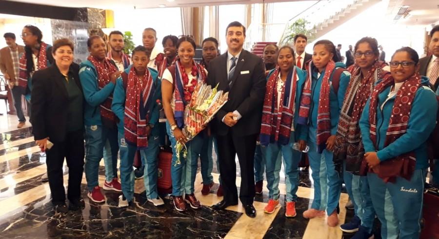 West Indies women's team arrive in Karachi for T20I series