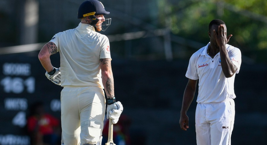 England dominate second day of Saint Lucia Test