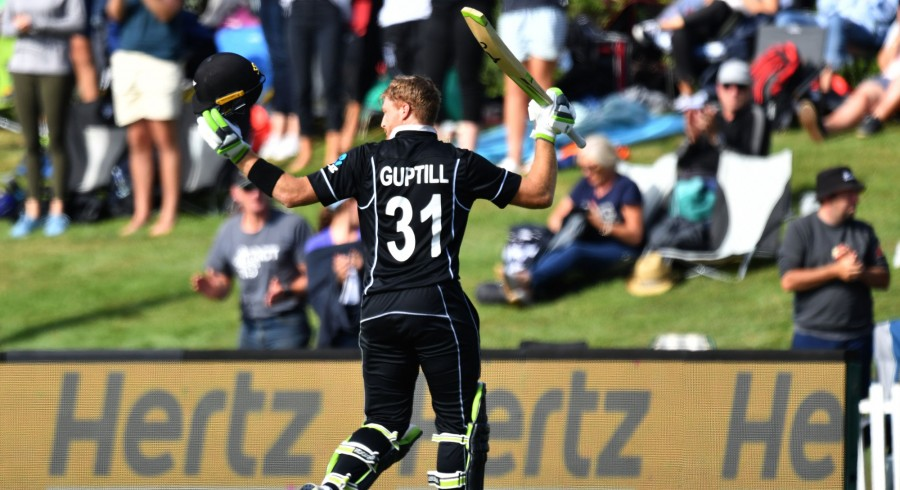 Guptill ton secures ODI series for New Zealand