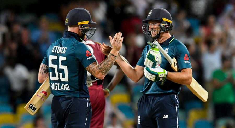 England post record chase to beat West Indies in series opener