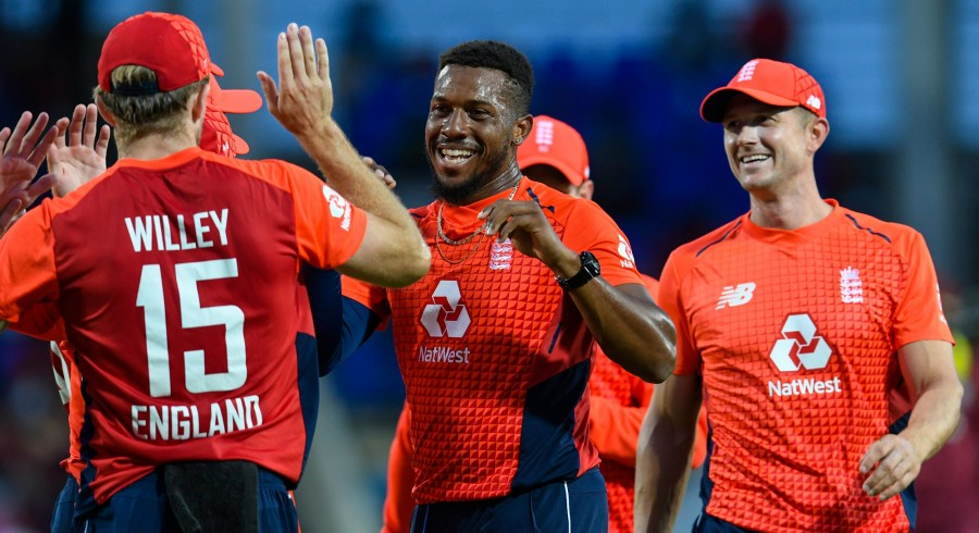 England triumph as West Indies crash to second lowest T20 total