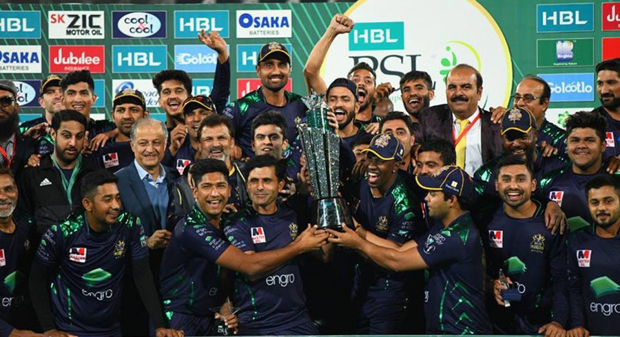 Gladiators to celebrate HBL PSL success on Pakistan Day