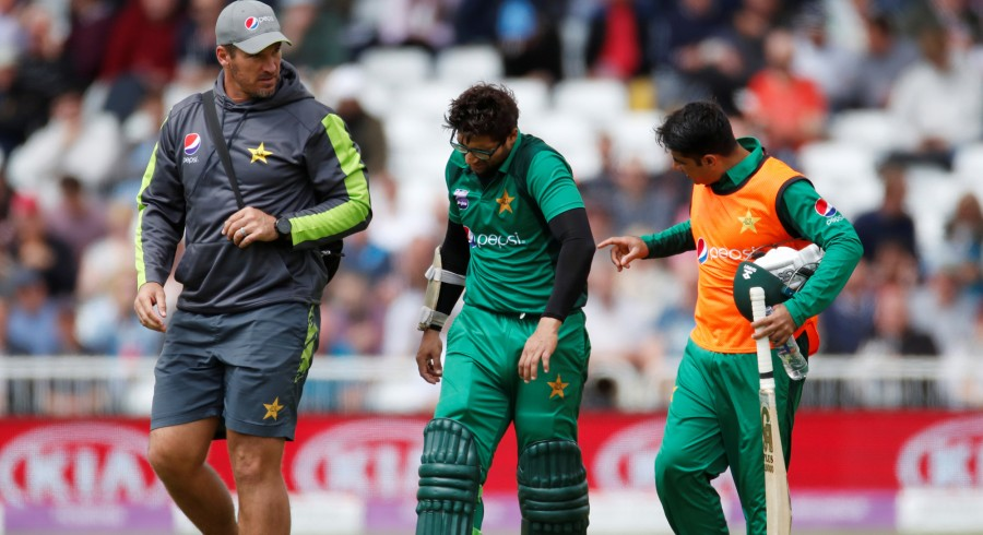 Key moments from fourth ODI between Pakistan and England