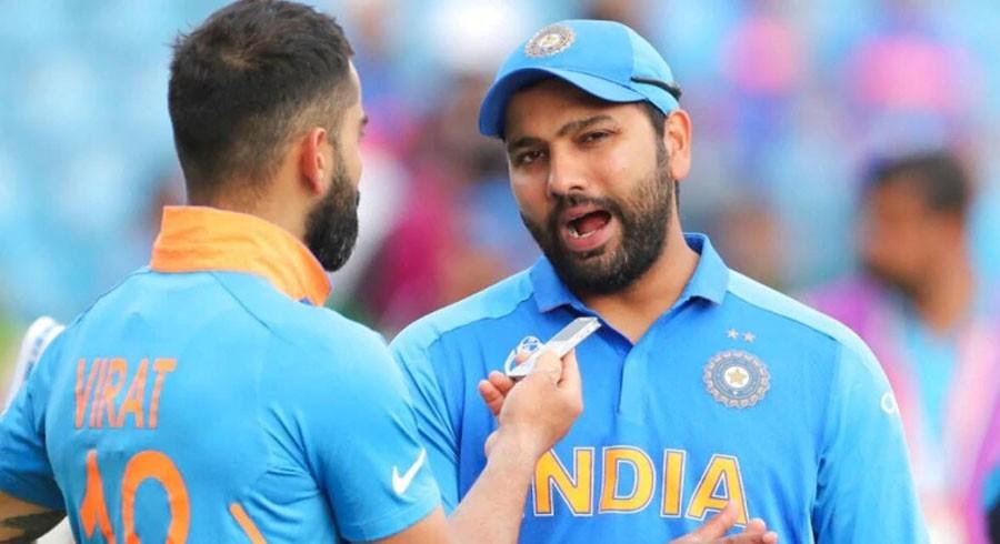 Rumours of rift between Kohli, Rohit