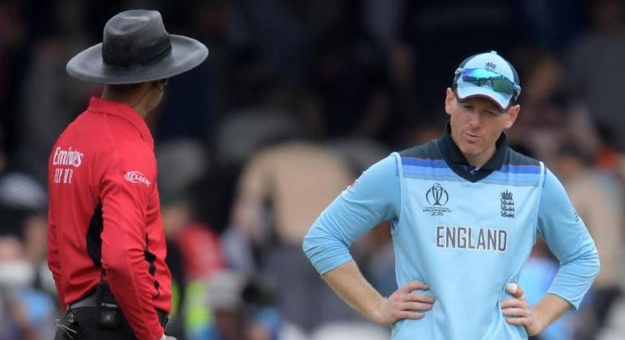 Cricket World Cup final umpire admits 'error'