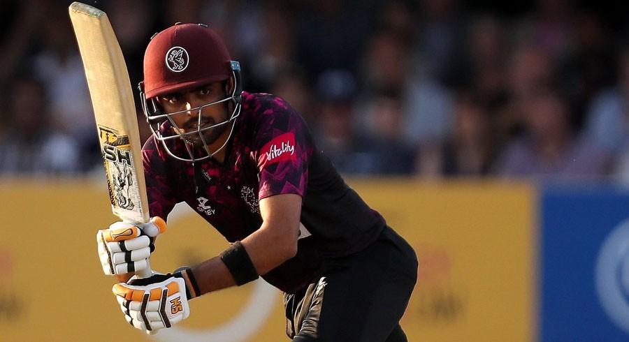 WATCH: Babar Azam's fifty powers Somerset to 114-run win