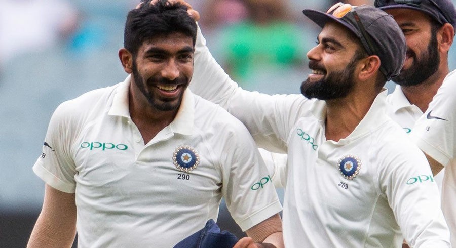 India's Bumrah thanks Kohli for review call after hat-trick
