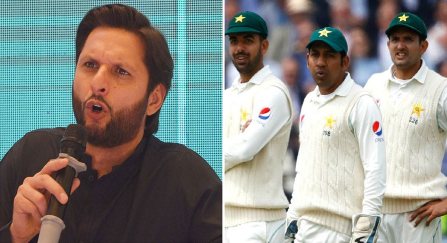 Sarfaraz should be relieved of Test captaincy: Afridi