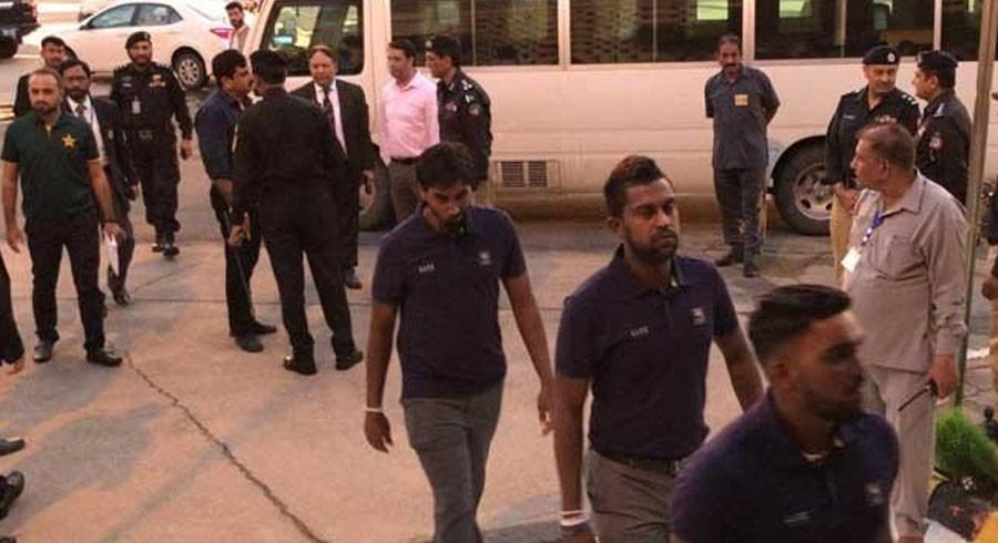 شاندار سیکیورٹی انتظامات سے سری لنکن خدشات زائل