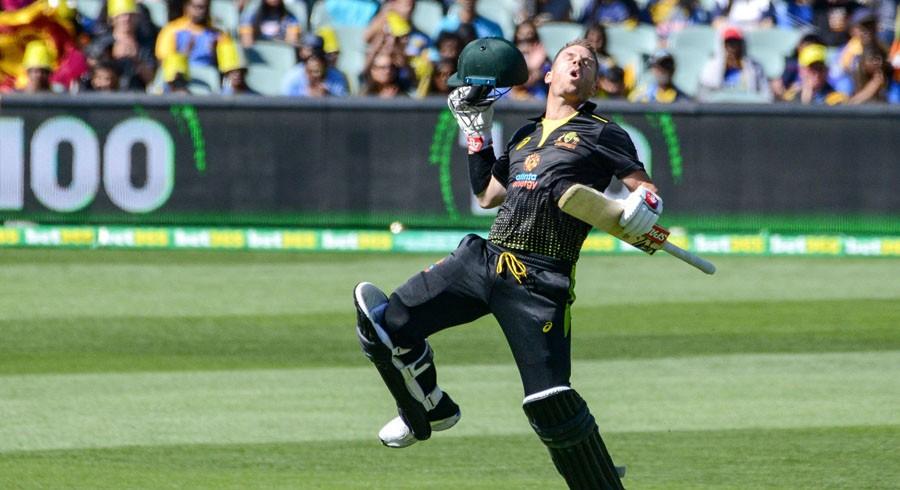 Warner's birthday T20 ton helps Australia trounce Sri Lanka