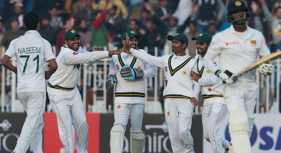 Pakistan edge ahead on day one in Rawalpindi Test