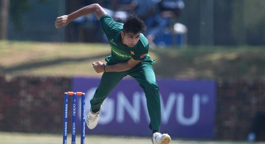 WATCH: Pakistan U19 pacers shine in abandoned WC match against Bangladesh