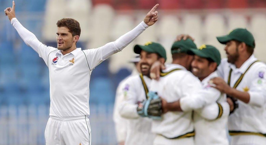 Shaheen shines as Pakistan restrict Bangladesh to 233 on day one