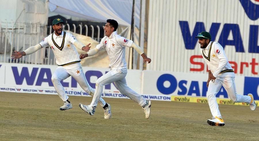 راولپنڈی ٹیسٹ میں پاکستان فتح کی جانب گامزن
