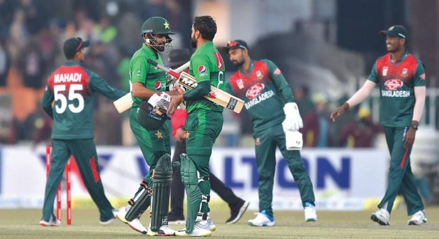 پاکستان اور بنگلا دیش کے درمیان واحد ون ڈے میچ کا شیڈول تبدیل