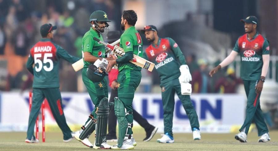 پاکستان اوربنگلہ دیش کے درمیان ون ڈے اورٹیسٹ میچ ملتوی