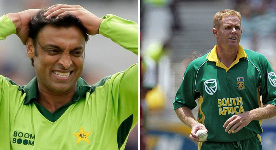 We watched captain's signal: Pollock opens up on Akhtar's menacing fast-bowling