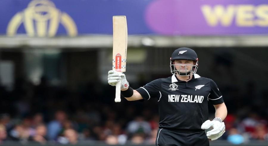 New Zealand's Nicholls donates World Cup final shirt