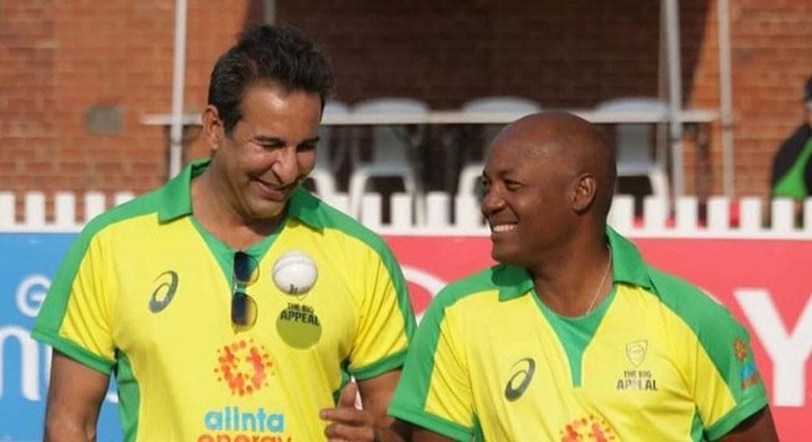 Wasim Akram pays birthday tribute to Brian Lara
